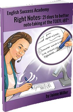 writing score 24 TOEFL iBT