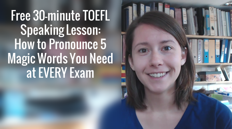 Free Lesson: How to Pronounce the 5 Magic Words You Need for