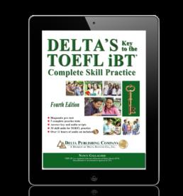Delta's Key to the TOEFL ibt - English Success Academy